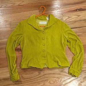 🐌3/$10🐌 electric yellow vintage velvet